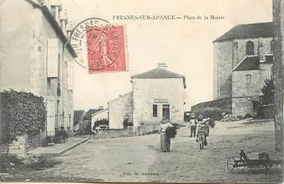 """CPA FRANCE 52 """"Fresnes sur Apance, Place de la Mairie"""""""