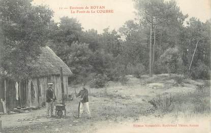 """/ CPA FRANCE 17 """"Environs de Royan, la forêt de la Coubre"""""""