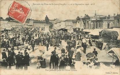 """/ CPA FRANCE 17 """"Souvenir des fêtes de Saint Jean d'Angély, 15 et 16 septembre 1906"""""""