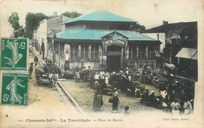 """/ CPA FRANCE 17 """"La Tremblade, place du marché"""""""