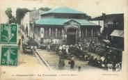 """17 Charente Maritime / CPA FRANCE 17 """"La Tremblade, place du marché"""""""