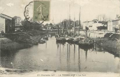 "/ CPA FRANCE 17 ""La Tremblade, le port"""