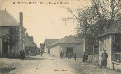 """/ CPA FRANCE 18 """"Bengy sur Craon, rue de la Meunière"""""""