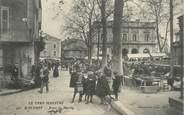 "81 Tarn  CPA FRANCE 81 ""Mazamet, la place du Marché"""