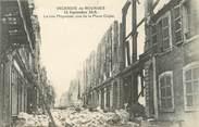 """18 Cher / CPA FRANCE 18 """"L'incendie de Bourges, la rue Moyenne"""""""