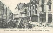 """18 Cher / CPA FRANCE 18 """"L'incendie de Bourges, les immeubles incendiés, rue Moyenne"""""""