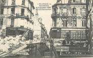 """18 Cher / CPA FRANCE 18 """"L'incendie de Bourges, la rue Coursalon """""""