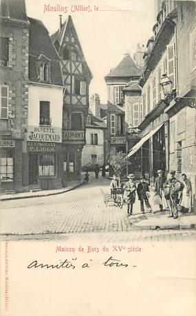 """CPA FRANCE 03 """"Moulins, Restaurant P. LIGER"""""""