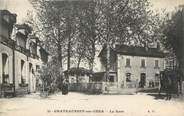 """18 Cher / CPA FRANCE 18 """"Châteauneuf sur Cher, la gare"""""""