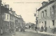 """18 Cher / CPA FRANCE 18 """"La Guerche, la grande rue et route de Nevers"""""""