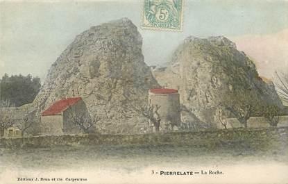 "CPA FRANCE 26 ""Pierrelatte, vue de la Roche"""