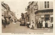 """18 Cher / CPSM FRANCE 18 """"Saint Amand Montrond, rue Henri Barbusse"""""""