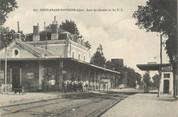 """18 Cher / CPA FRANCE 18 """"Saint Amand Montrond, gare du chemin de fer"""""""