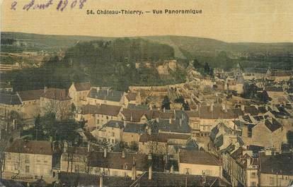 "/ CPA FRANCE 02 ""Château Thierry, vue panoramique"""
