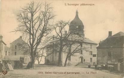 """CPA FRANCE 63 """"Saint Gervais d'Auvergne"""""""