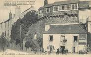 """56 Morbihan / CPA FRANCE 56 """"Ploermel, anciennes fortifications, les remparts"""""""