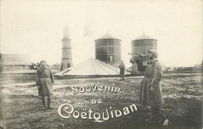"""/ CPA FRANCE 56 """"Souvenir de Coëtquidan"""" / MILITAIRE"""