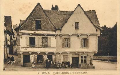 """/ CPA FRANCE 56 """"Auray, vieilles maisons de Saint Goustan """""""