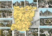 "53 Mayenne / CPSM FRANCE 53 ""Mayenne"" / CARTE  GEOGRAPHIQUE"