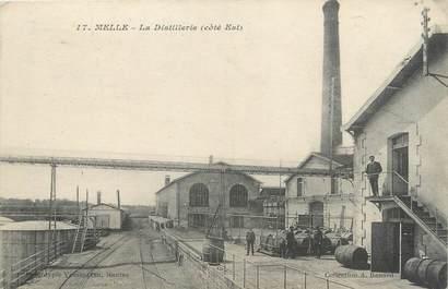 """/ CPA FRANCE 79 """"Melle, la distillerie"""""""