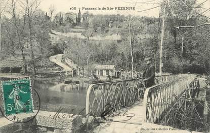 """/ CPA FRANCE 79 """"Passerelle de Sainte Pézenne"""""""