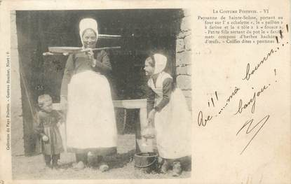 """/ CPA FRANCE 79 """"Le costume Poitevin"""" / FOKLORE"""