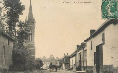 """/ CPA FRANCE 80 """"Bonneville, rue d'Aumont"""""""