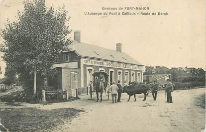 """/ CPA FRANCE 80 """"L'auberge du pont à Cailloux, route de Berck"""""""