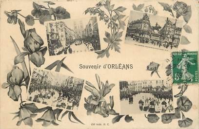 """CPA FRANCE 45 """"Souvenir d'Orléans"""""""