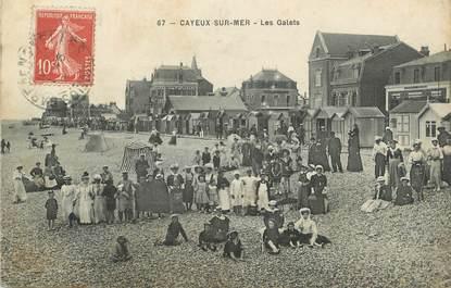 """/ CPA FRANCE 80 """"Cayeux sur Mer, les galets"""""""