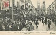 """45 Loiret CPA FRANCE 45 """"Orléans, les fêtes de Jeanne d'Arc, le cortège historique, Jeanne d'Arc"""""""