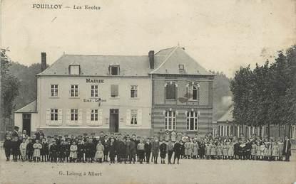 """/ CPA FRANCE 80 """"Fouilloy, les écoles"""""""