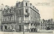 """80 Somme / CPA FRANCE 80 """"Mers Les Bains, l'hôtel et la rue de Bellevue"""""""