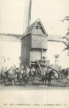 """/ CPA FRANCE 80 """"Villers, le moulin à vent"""""""