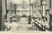 """80 Somme / CPA FRANCE 80 """"Villers Bretonneux, école primaire, réfectoire"""""""