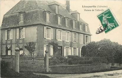 """CPA FRANCE 14 """"Léaupartie, Maison de Tolleville"""""""