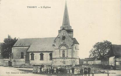 "/ CPA FRANCE 80 ""Thory, l'église"""