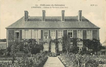 """CPA FRANCE 14 """"Lingèvres, Château de Verrières"""""""