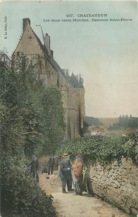 """CPA FRANCE 28 """"Châteaudun, la descente saint Pierre"""""""