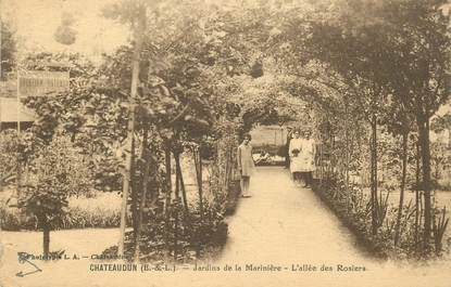 "CPA FRANCE 28 ""Châteaudun, L'allée des Rosiers"""