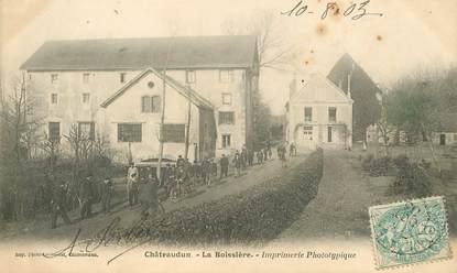 """CPA FRANCE 28 """"Châteaudun, La Boissière, Imprimerie"""""""