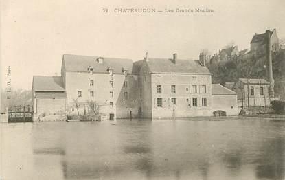 """CPA FRANCE 28 """"Châteaudun, les Grands moulins"""""""