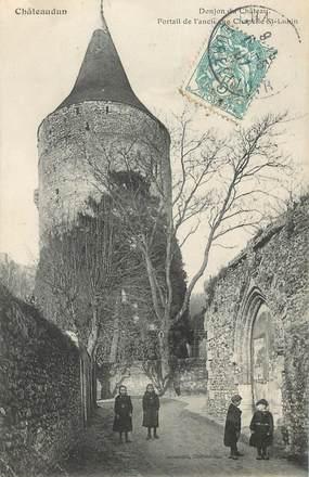 "CPA FRANCE 28 ""Châteaudun, Donjon du Chateau"""
