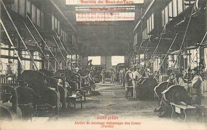 """/ CPA FRANCE 81 """"Saint Juéry, atelier de meulage mécanique des Limes"""""""