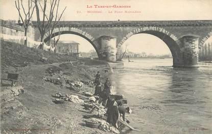 """/ CPA FRANCE 82 """"Moissac, le pont Napoléon"""""""
