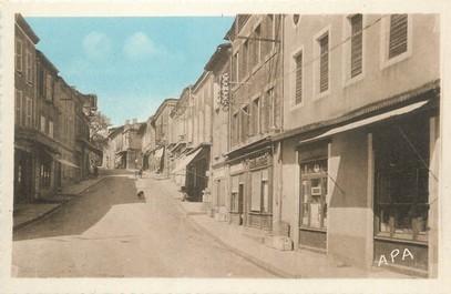 "/ CPA FRANCE 82 ""Monclar de Quercy, grande rue"""