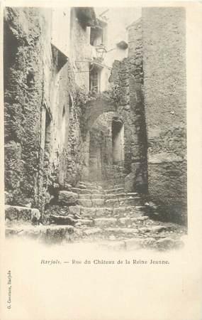 """/ CPA FRANCE 83 """"Barjols, rue du château de la reine Jeanne"""""""