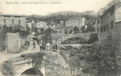 """/ CPA FRANCE 83 """"Barjols, ponts des Augustins et les condamines"""""""