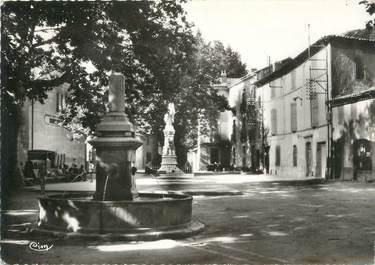 """/ CPSM FRANCE 83 """"Varages, fontaine du plan"""""""