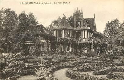 """CPA FRANCE 14 """"Hennequeville, le Petit Manoir"""""""